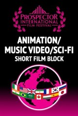 PIFF - Short Animation, Music Video, SciFi Block Large Poster