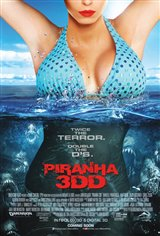Piranha 3DD Movie Poster