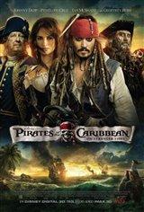 Pirates des Caraïbes : La fontaine de Jouvence 3D Movie Poster