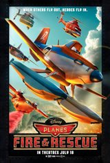 Planes: Fire & Rescue Movie Poster Movie Poster