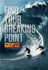 Point Break 3D Movie Poster