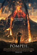 Pompeii 3D Movie Poster