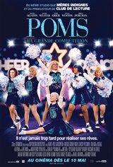 Poms : La grande compétition Affiche de film