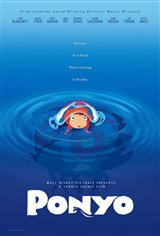 Ponyo (Dubbed) Movie Poster
