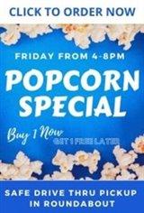 Popcorn Pick Up Friday Movie Poster