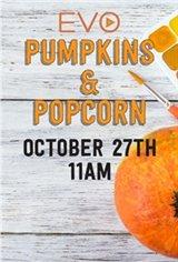 Popcorn & Pumpkins Large Poster