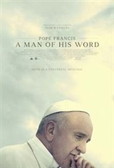 Pope Francis: A Man of His Word Movie Poster Movie Poster