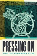 Pressing On: The Letterpress Film Movie Poster