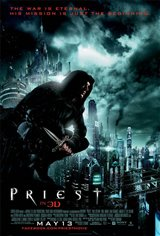 Priest 3D Movie Poster