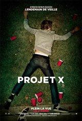 Projet X Affiche de film