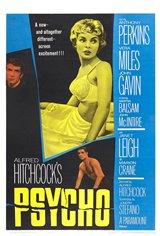 Psycho (1960) Movie Poster