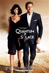 Quantum of Solace Movie Poster Movie Poster