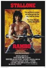 Rambo: First Blood Part II Movie Poster