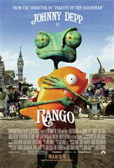 Rango (v.f.) Movie Poster