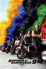 Rapides et Dangereux 9 La Saga Affiche de film