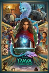 Raya et le dernier dragon Affiche de film