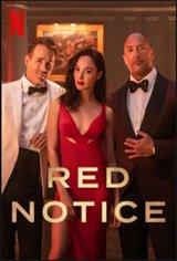 Red Notice (Netflix) Movie Poster