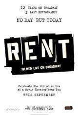 Rent: Filmed Live on Broadway Movie Poster