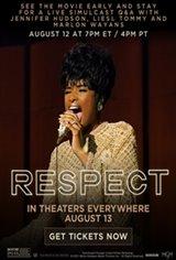 Respect Fathom Live Stream Q&A Event Movie Poster