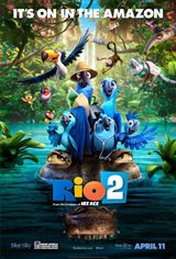 Rio 2 3D Movie Poster