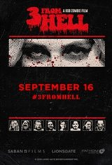 Rob Zombie's 3 From Hell - Night One Affiche de film
