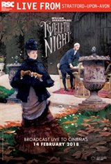 Royal Shakespeare Company: Twelfth Night Large Poster