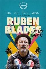Ruben Blades is Not My Name Affiche de film