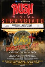 Rush: Cinema Strangiato - Director's Cut Movie Poster