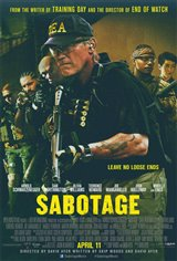 Sabotage Movie Poster Movie Poster