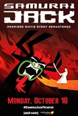 Samurai Jack: The Premiere Movie Event Movie Poster