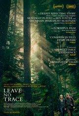 Sans laisser de trace (v.o.a.s.-t.f.) Affiche de film