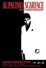 Scarface 35th Anniversary Movie Poster