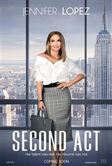 Second Act Affiche de film