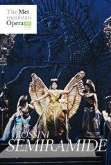 Semiramide - Metropolitan Opera Affiche de film