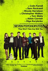 Seven Psychopaths Large Poster