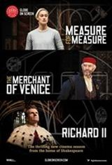 Shakespeare's Globe Theatre: The Merchant of Venice Large Poster