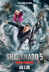Sharknado 5: Global Swarming Movie Poster