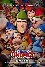 Sherlock Gnomes 3D Movie Poster
