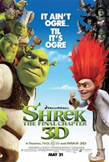 Shrek Forever After 3D Movie Poster