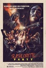 Slashlorette Party Affiche de film