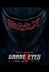 Snake Eyes: G.I. Joe Origins - The IMAX Experience Movie Poster