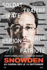 Snowden (v.f.) Affiche de film