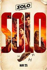 Solo : Une histoire de Star Wars Affiche de film