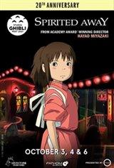 Spirited Away 20th Anniversary - Studio Ghibli Fest 2021 Movie Poster