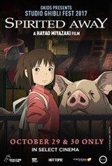 Spirited Away - Studio Ghibli Fest 2019 Movie Poster