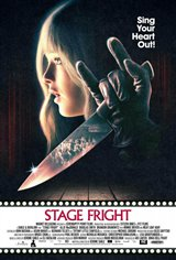 Stage Fright Large Poster