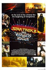 Star Trek II: The Wrath of Khan Movie Poster