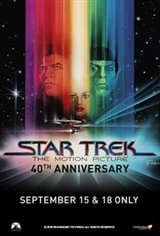 Star Trek: The Motion Picture (1979) 40th Anniversary Movie Poster