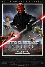 Star Wars: Episode I - The Phantom Menace 3D Movie Poster