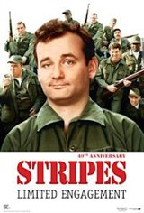 Stripes 40th Anniversary Affiche de film